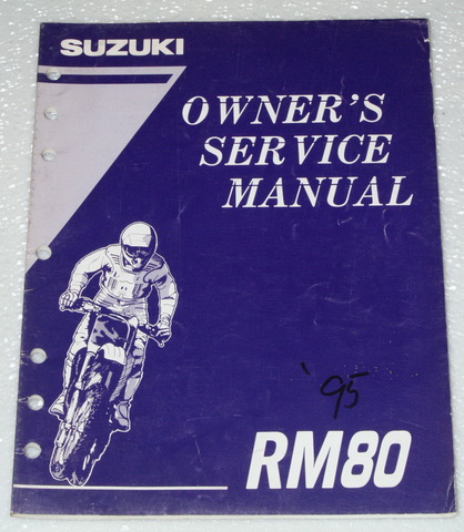 1995 suzuki rm80