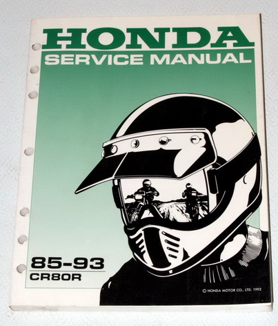 honda cr250r service manual download