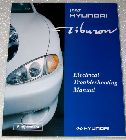1997 hyundai tiburon base fx coupe electrical. Black Bedroom Furniture Sets. Home Design Ideas