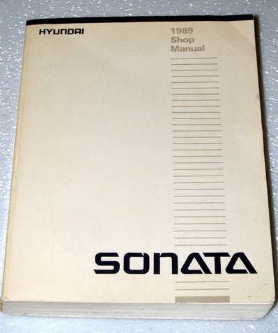 2007 Hyundai Sonata Shop Manual (2 Volume Set) Hyundai Motor Company
