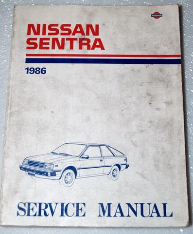1986 nissan sentra factory dealer shop service repair manual book nissan body diagram 1987 nissan sentra factory service manual