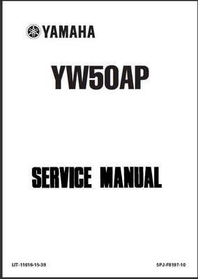 2002-2004 YW50 Zuma Scooter Factory Service Manual