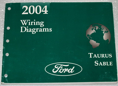 2004 ford taurus mercury sable electrical wiring diagrams. Black Bedroom Furniture Sets. Home Design Ideas