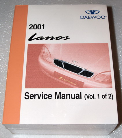 2000 2001 2002 daewoo lanos service manual set new factory. Black Bedroom Furniture Sets. Home Design Ideas