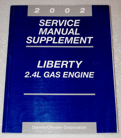 2002 Jeep Liberty Factory Service Manual Supplement