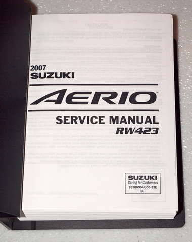2002 suzuki aerio service manual how to and user guide instructions u2022 rh taxibermuda co 2005 suzuki aerio service manual suzuki aerio service manual pdf