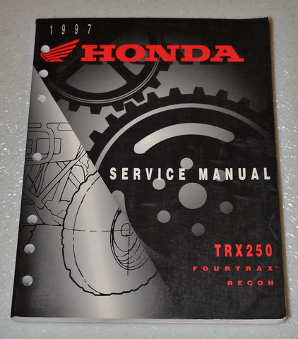 1997 Honda TRX250 Fourtrax Recon 250 Factory Service Manual