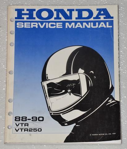 1988 1989 1990 honda vtr250 interceptor 250 factory shop. Black Bedroom Furniture Sets. Home Design Ideas