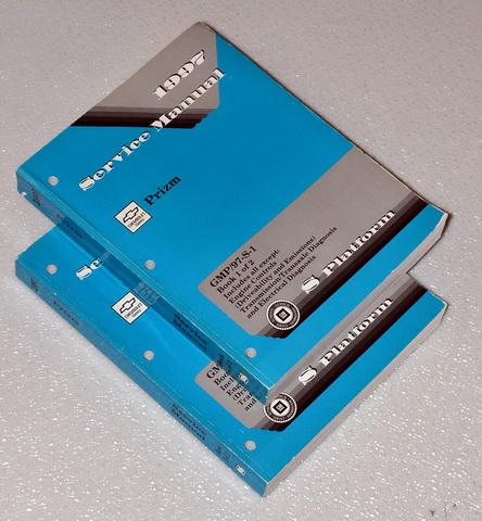 1997 chevy geo prizm lsi shop service repair manual
