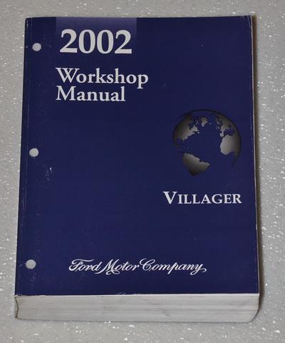 2002 mercury villager mini van sport estate factory shop. Black Bedroom Furniture Sets. Home Design Ideas