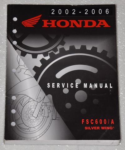 2002 2003 2004 2005 2006    HONDA    SILVERWING FSC600 A Scooter