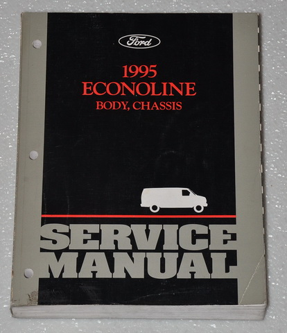 ford econoline van     club wagon oem shop