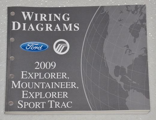 2009 Ford Explorer  Explorer Sport Trac  U0026 Mercury Mountaineer Electrical Wiring Diagrams