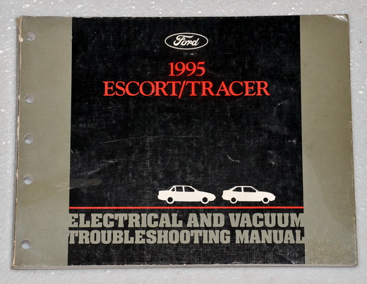 1995 Ford Escort, Mercury Tracer Electrical & Vacuum Troubleshooting Manual