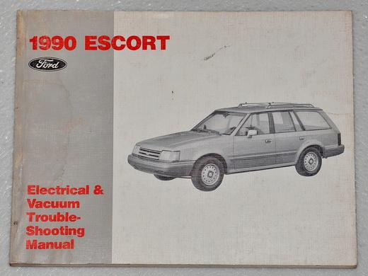 1990 ford escort electrical vacuum troubleshooting shop. Black Bedroom Furniture Sets. Home Design Ideas
