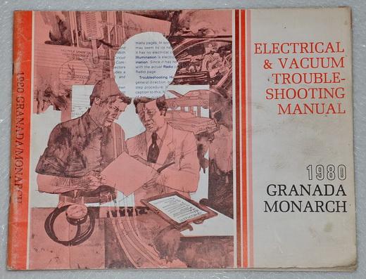 1980 Ford Granada Mercury Monarch Electrical  U0026 Vacuum