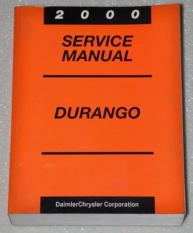 2000 dodge durango factory service manual original shop repair rh factoryrepairmanuals com free 2000 dodge durango service manual 2000 Dodge Durango Lifted