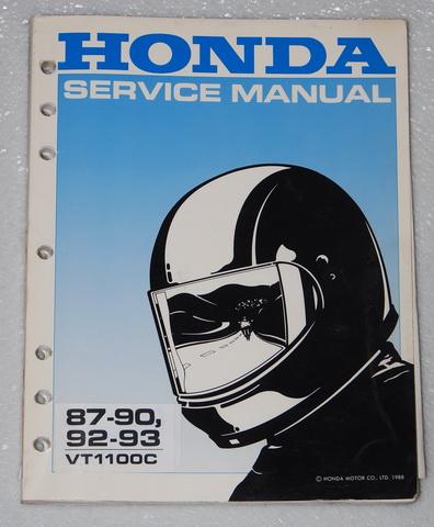 1987 1993 honda shadow 1100 vt1100c shop service repair. Black Bedroom Furniture Sets. Home Design Ideas