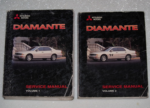 1998 Mitsubishi Diamante Factory Dealer Shop Service Manuals