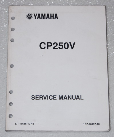2006 yamaha morphous scooter cp250 service manual cp250v. Black Bedroom Furniture Sets. Home Design Ideas