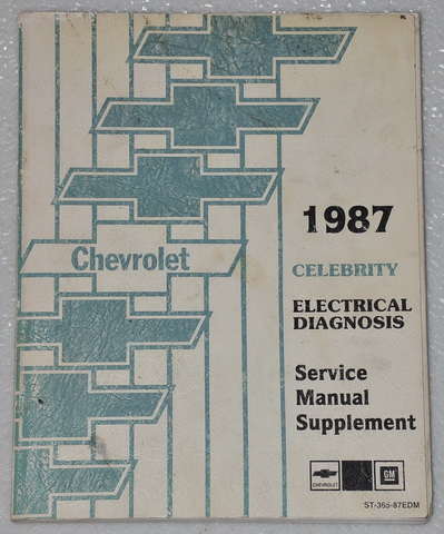 1987 chevrolet celebrity electrical diagnosis service. Black Bedroom Furniture Sets. Home Design Ideas