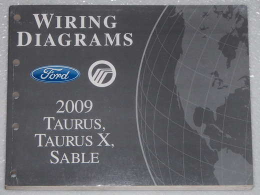 2009 Ford Taurus, Taurus X & Mercury Sable Electrical Wiring Diagrams