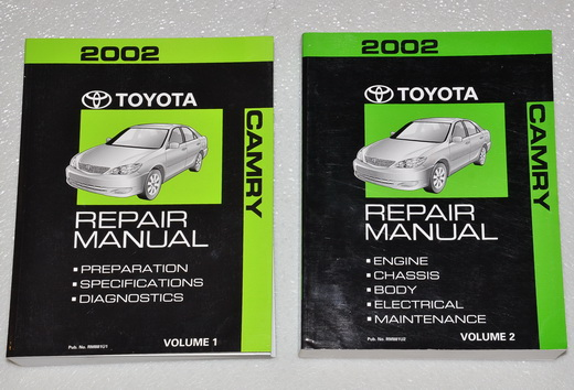 2002 Camry Shop Manual