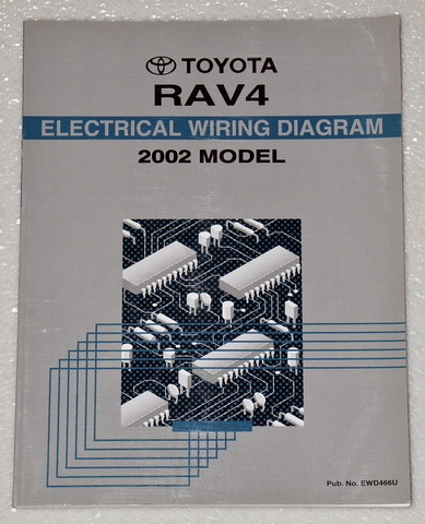 2002 Toyota RAV4 Electrical Wiring Diagrams
