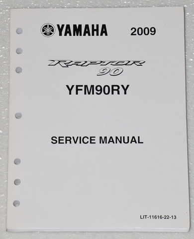 2009 yamaha raptor 90 atv yfm 90 service manual yfm90ry. Black Bedroom Furniture Sets. Home Design Ideas