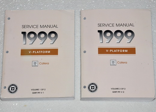 1999 Cadillac Catera Factory Service Manual Set