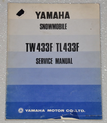1974 yamaha tw433f tl433f tw tl 433 f snowmobile shop. Black Bedroom Furniture Sets. Home Design Ideas