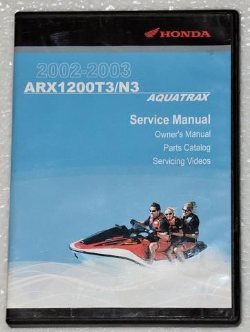 2002 2003 honda aquatrax f 12 f 12x arx1200t3  n3 service 2004 Honda Aquatrax Problems 2004 Honda Aquatrax F 12