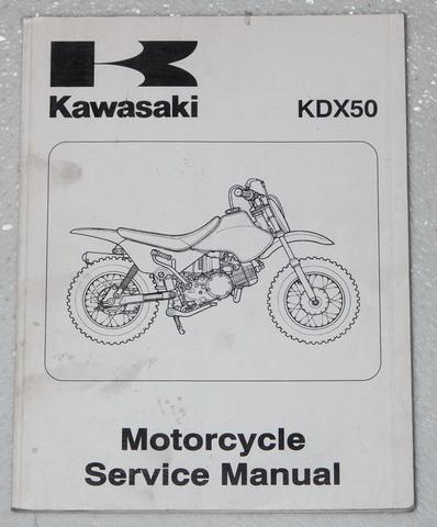 2003 kawasaki kdx50 2001 2002 suzuki jr50 service manual