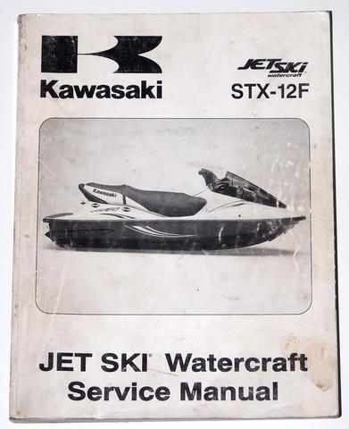 Manual stx 12f Kawasaki