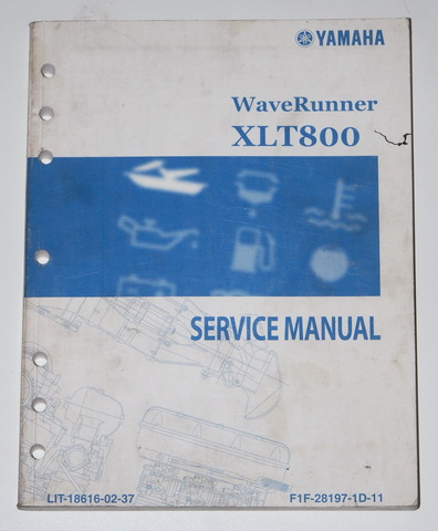 2002 yamaha xlt800 wave runner service manual factory. Black Bedroom Furniture Sets. Home Design Ideas