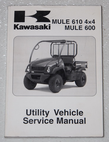 2005 2007 kawasaki mule 610 4x4 600 service manual kaf400 factory rh factoryrepairmanuals com Kawasaki Mule 600 Service Manual Kawasaki Mule 610 Parts Diagram