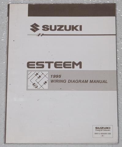 1995 suzuki esteem electrical wiring diagrams factory shop ... 2003 pontiac bonneville belt diagram wiring schematic 2001 suzuki esteem belt diagram wiring schematic