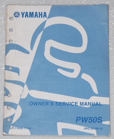 2004 yamaha pw50 y zinger 50 motorcycle owners service. Black Bedroom Furniture Sets. Home Design Ideas