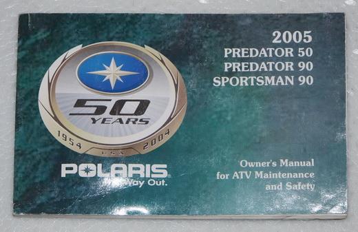 Polaris Atv 2004 Sportsman 90 Predator 50 90 Repair Manual Improved Servicemanualspro