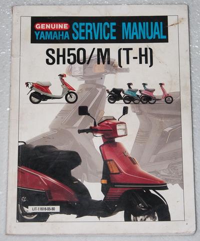 1987 88 1989 yamaha riva razz 50 scooter service manual 2009 yamaha fz1 wiring diagram #9