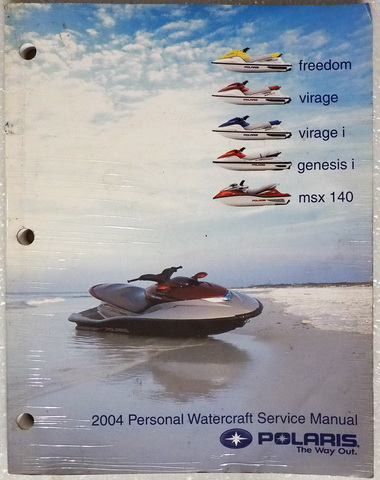 2004 Polaris Freedom, Virage, Virage i, Genesis i Factory Dealer Shop Service Manual