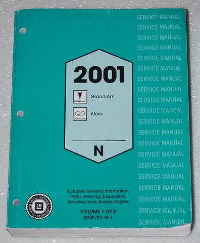 2001 oldsmobile alero repair manual online