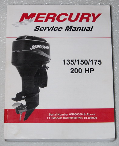 2000 mercury outboard 135 150 175 200 hp 2 stroke service. Black Bedroom Furniture Sets. Home Design Ideas