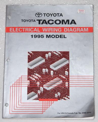 1995 toyota pickup wiring diagram 1995 toyota tacoma electrical wiring diagrams original ... 93 toyota pickup wiring diagram