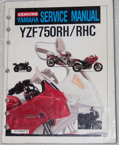 1994 1996 yamaha yzf 750r factory service manual yzf 750 r. Black Bedroom Furniture Sets. Home Design Ideas