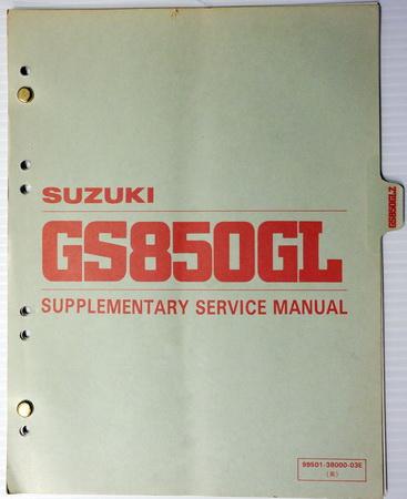 on 1982 Suzuki Gs850 Wiring