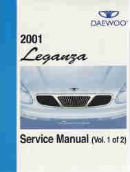 Genuine Daewoo Factory Dealer Service Manual