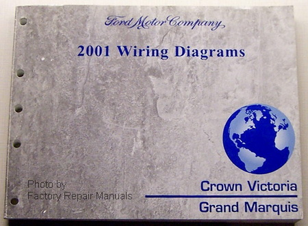 2001 ford crown victoria & mercury grand marquis ... electric diagram 2001 crown victoria 2001 crown victoria engine diagram #4