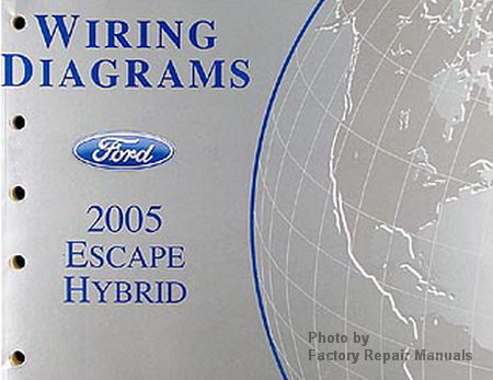2005 ford escape hybrid electrical wiring diagrams. Black Bedroom Furniture Sets. Home Design Ideas