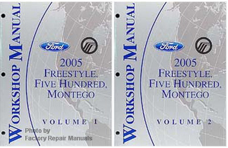 2005 Ford Freestyle, Five Hundred & Mercury Montego ...